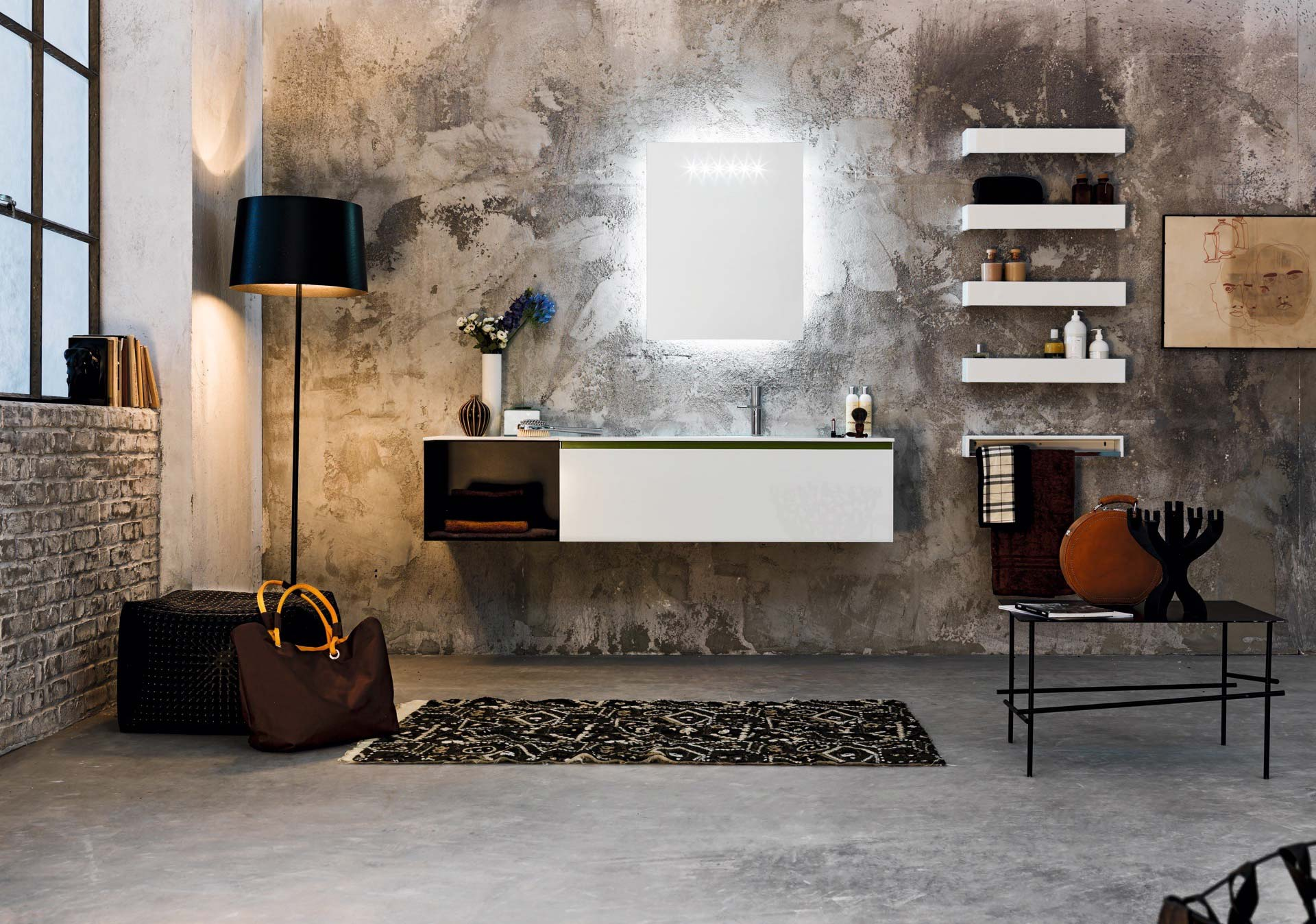 Salle de bain ambiance confort moderne