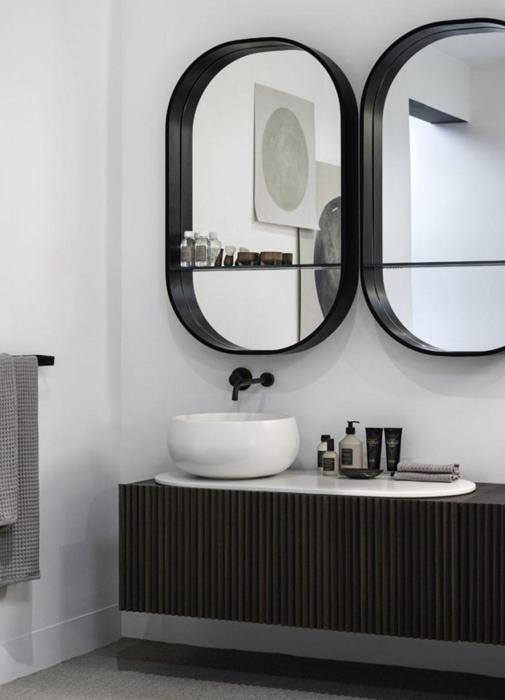Meuble de salle de bains contemporain_Cielo