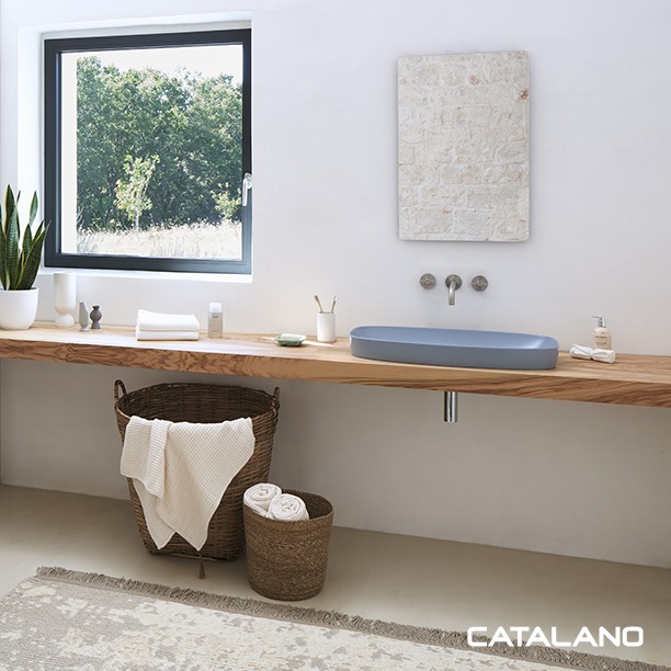 Collection vasque en céramique pour la salle de bains