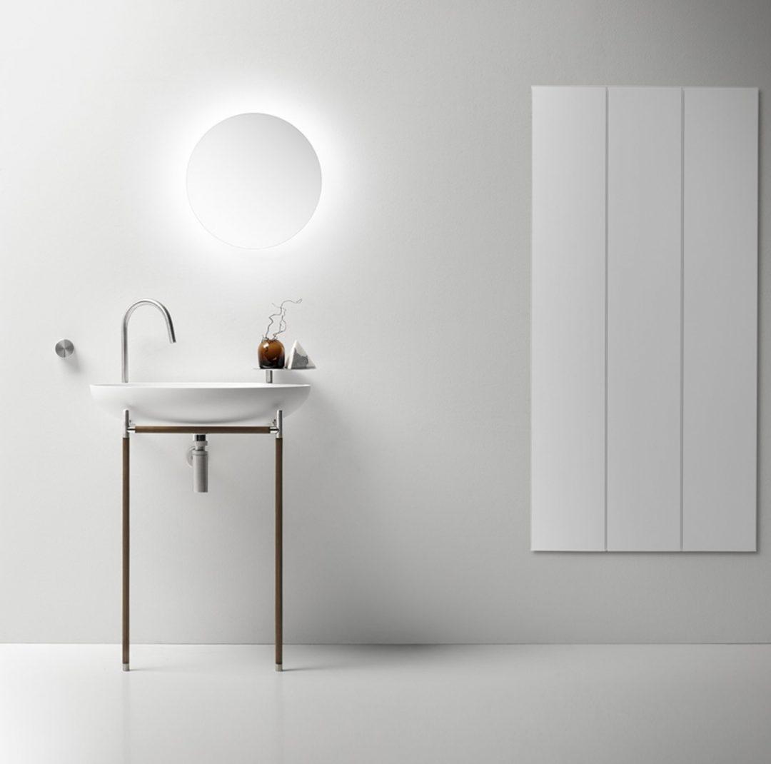 Mobilier salle de bains_Vasque sur piètement_Falper