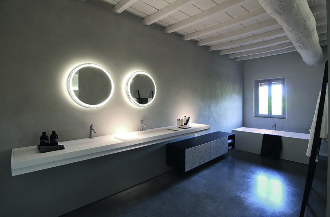 Mobilier contemporain pour la salle de bains chez Hydropolis
