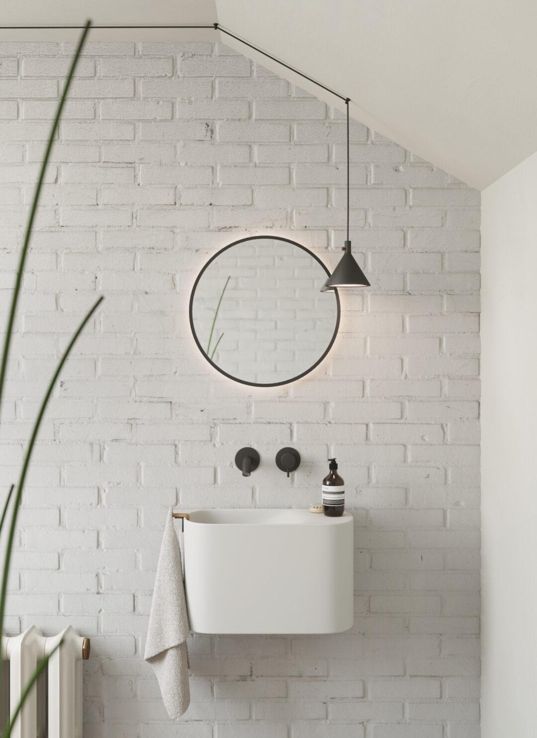 Lave-mains suspendu en Korakril™_Rexa Design