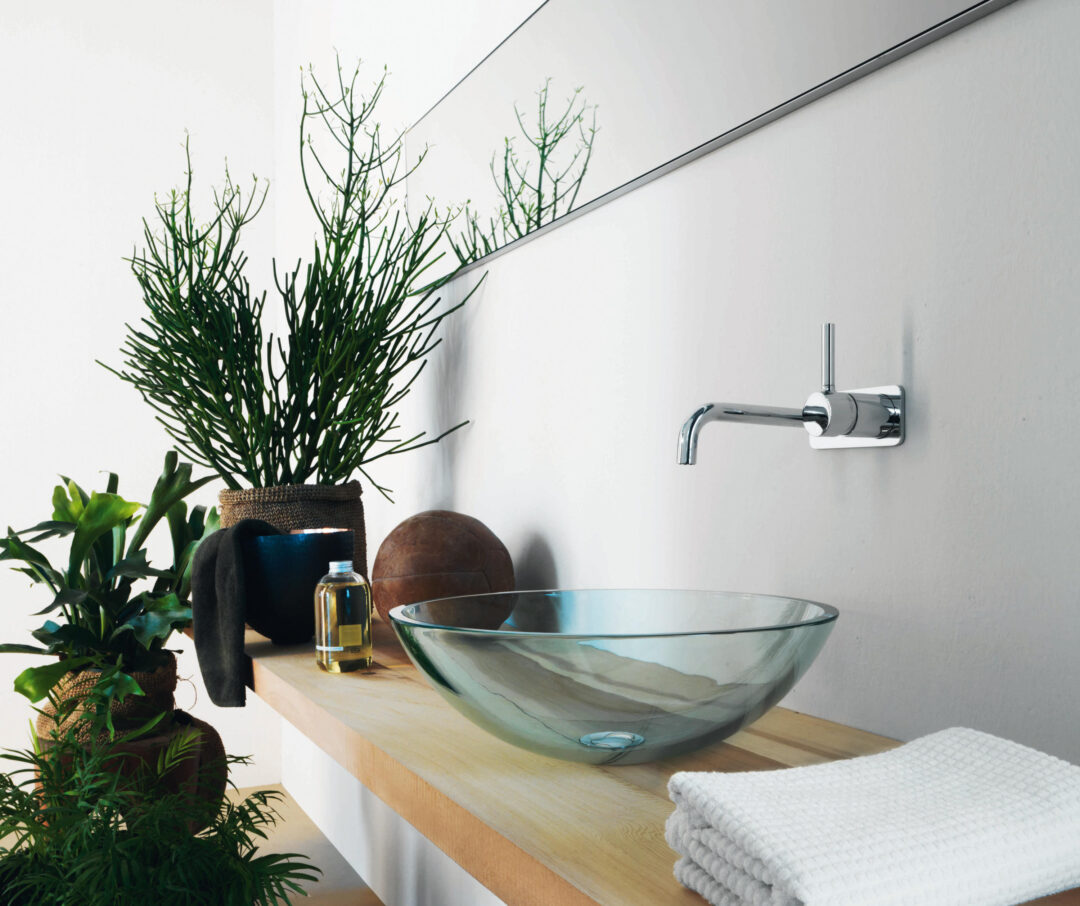 Une robinetterie contemporaine pour la salle de bains__Zucchetti