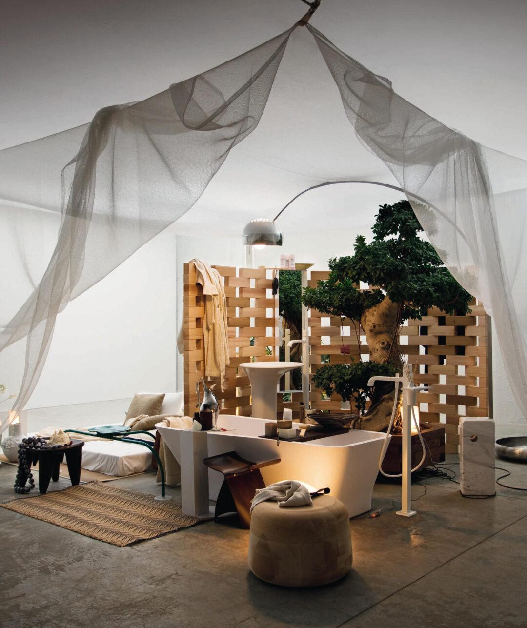 Une salle de bains contemporaine_Zucchetti