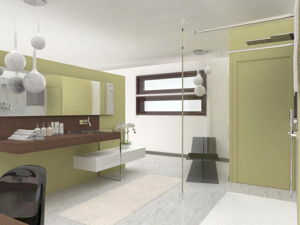 Salle de bains ouverte sur suite parentale