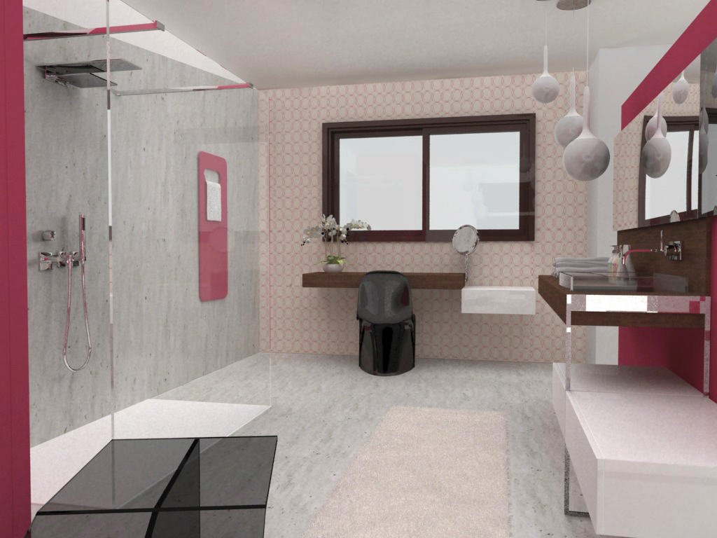 Création d'une salle de bains pour enfant