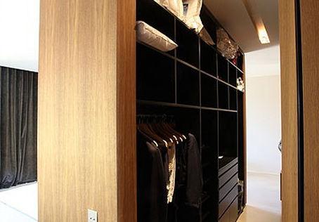 Aménagement d'une chambre avec dressing + SDB en appart-hôtel à Marseille
