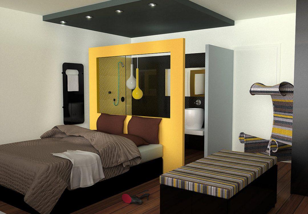 Chambre en appart-hôtel à Marseille