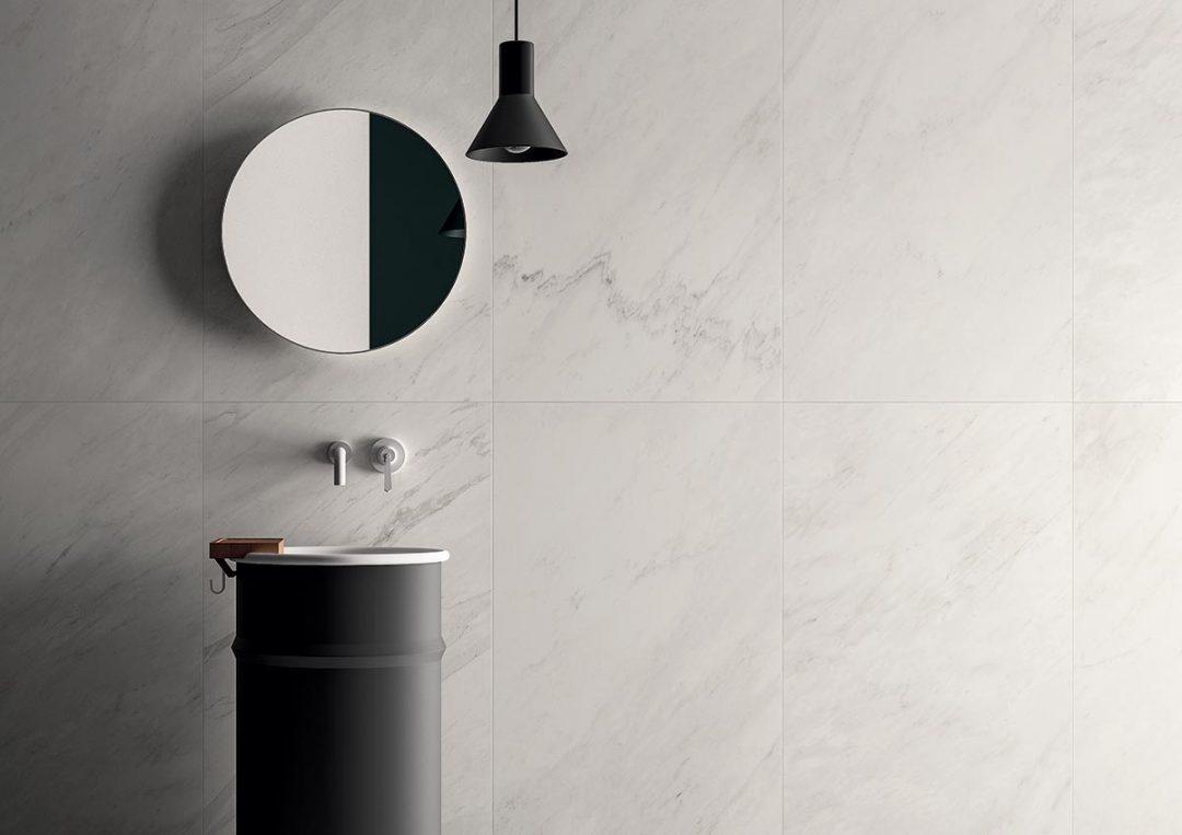 Carrelage en grès cérame pour la salle de bains