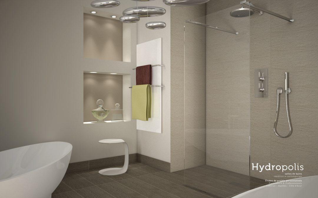 Salle de bains dans maison de ville