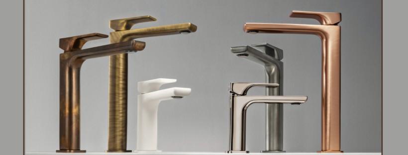 Collections robinetterie pour la salle de bains_Hydropolis
