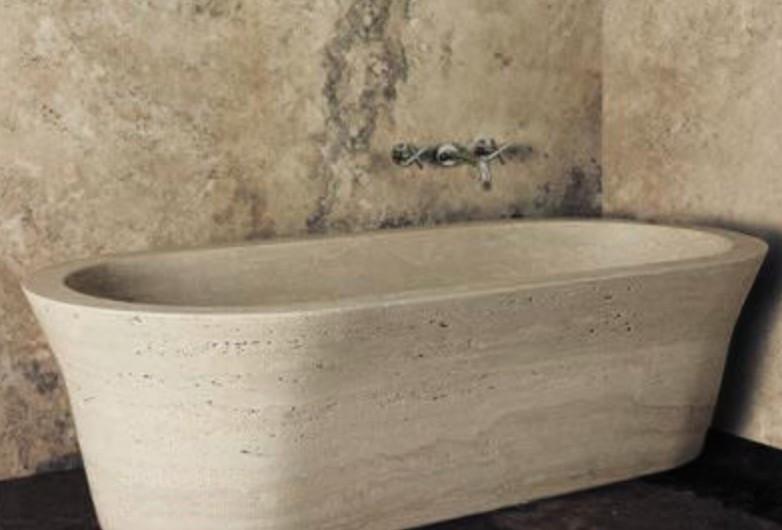 Boxart-baignoire en pierre