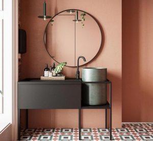 Tendances salles de bains_Inspiration Pinterest terracotta