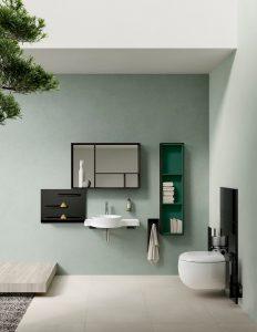 Bien aménager une petite salle de bains_Hydropolis_collectionVitra