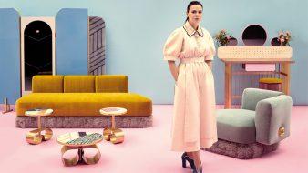 Cristina Celestino, collectionneuse, designer et architecte d'intérieur