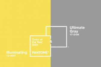 Pantone dévoile les deux couleurs de l'année 2021