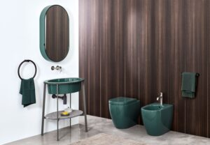 Meuble de salle de bains coloré_Cielo