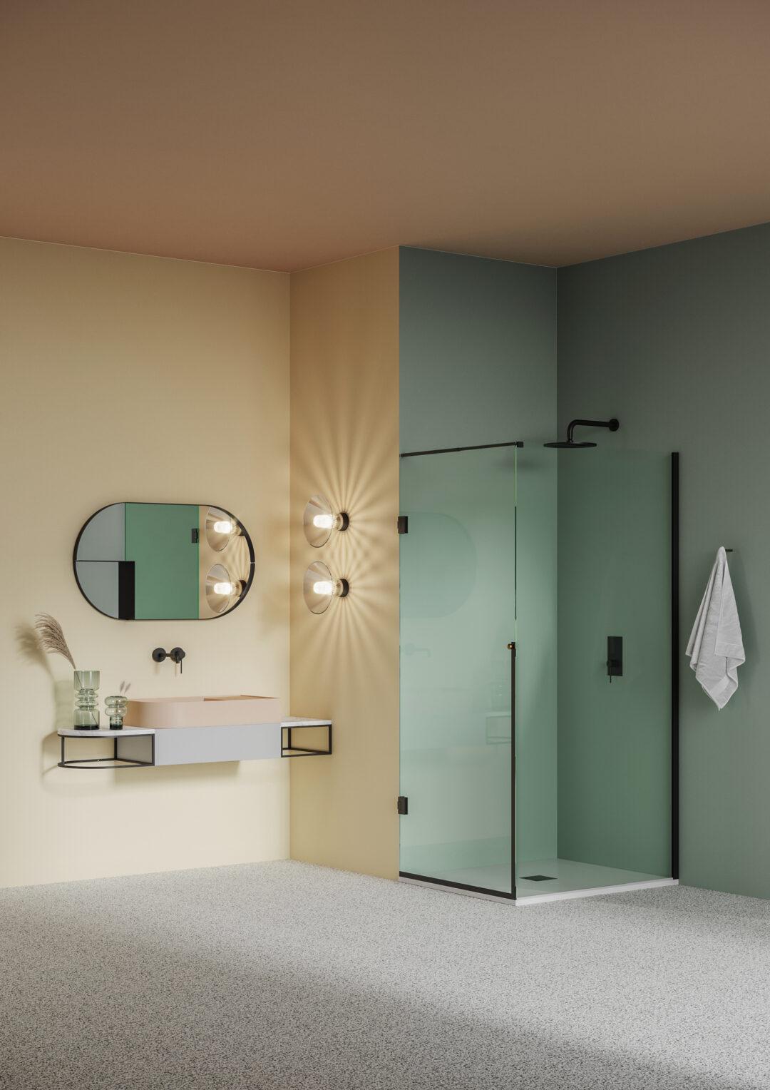 Bien aménager une petite salle de bains_jouer sur les éclairages
