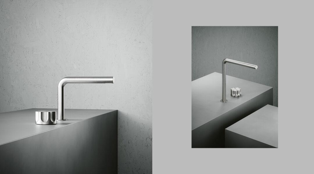 Robinetterie acier inoxydable - Quadro Design chez Hydropolis