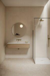 Bien aménager une petite salle de bains-Couleur claire