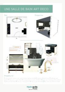 Comment aménager une salle de bains Art Déco ?