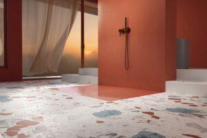 BetteAir la nouvelle dalle de douche en acier vitrifié