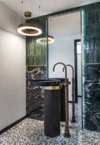 Hydropolis - Réalisation d'une salle de bains invités - Projet Aix-en-Provence